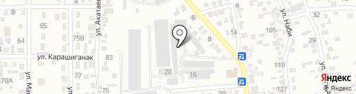 Полимертара на карте Алматы