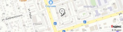 Siluet на карте Алматы