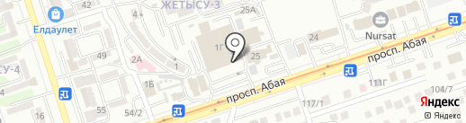 Eyfel perfumum на карте Алматы
