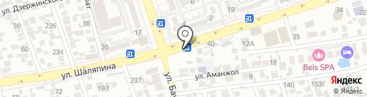Инкар на карте Алматы