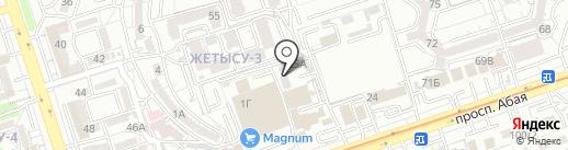 ДорСтройТрансМонтаж-9009, ТОО на карте Алматы