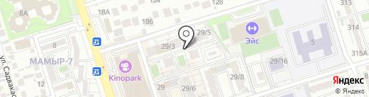 Добрый на карте Алматы