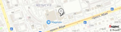 Кровавая Мэри на карте Алматы
