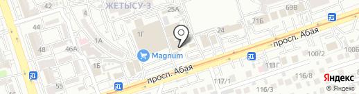 Lucky на карте Алматы