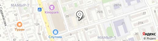 Фармацвет, ТОО на карте Алматы