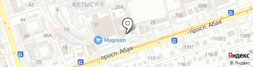 Мебель со склада на карте Алматы