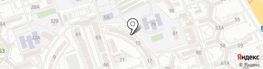 Dervish Hostel Almaty на карте Алматы