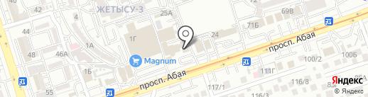 СабиМед, ТОО на карте Алматы