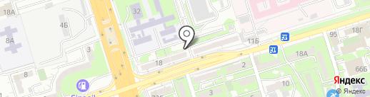 Техснабэлектрикс на карте Алматы