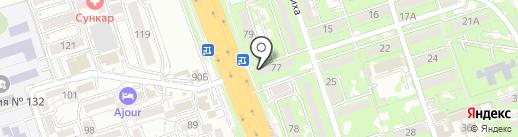 Moxie nails на карте Алматы