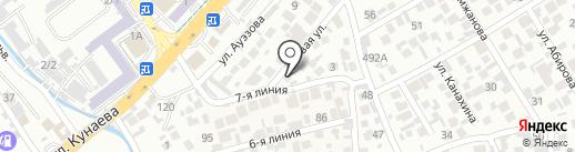 Медэкспресс на карте Алматы