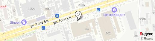 TAMISH TEXTILE на карте Алматы