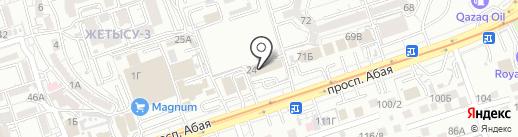 V I P на карте Алматы