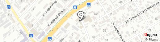 TotalGas на карте Алматы