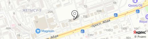 Zakolka на карте Алматы