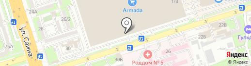 Neolux на карте Алматы