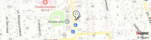 Бекарыс, фотосалон на карте Алматы