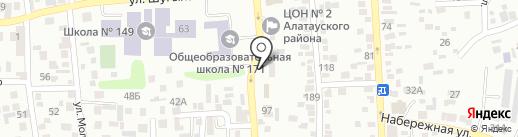 Орман, кафе на карте Алматы