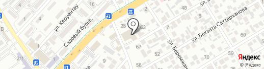 T-2 на карте Алматы