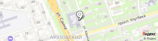 PROFI FIGHT на карте Алматы