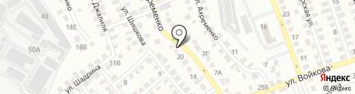 Актау автогаз на карте Алматы