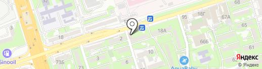 Алматы-Донер на карте Алматы