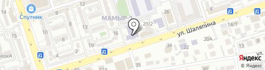 Казахский университет путей сообщения на карте Алматы