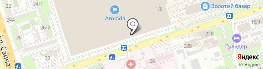 AMZ LTD на карте Алматы