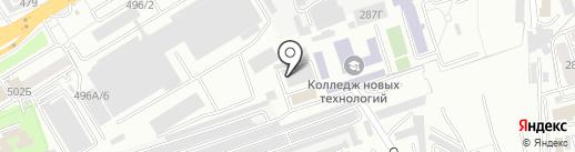Ригель на карте Алматы