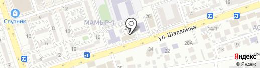 Penthouse Hostel на карте Алматы