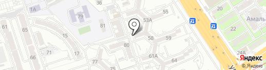 Алмас, ПКСК на карте Алматы