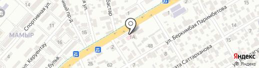 Стиль жизни на карте Алматы
