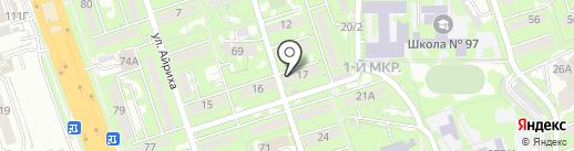 Рахыш, ТОО на карте Алматы