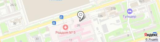 Orion Stom на карте Алматы