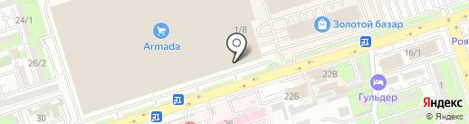 Steel Land на карте Алматы