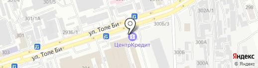Extaz.kz на карте Алматы