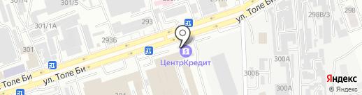 NK Trade на карте Алматы