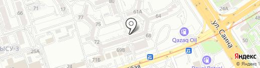 Гульвира на карте Алматы