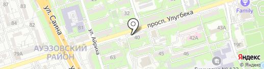 Светский львёнок на карте Алматы