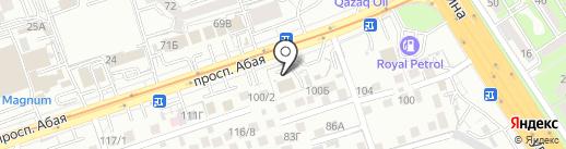 Инженерно-методический центр, ТОО на карте Алматы