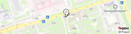 Яссы на карте Алматы