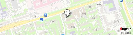 UNIART на карте Алматы