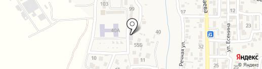 Амади на карте Боралдая
