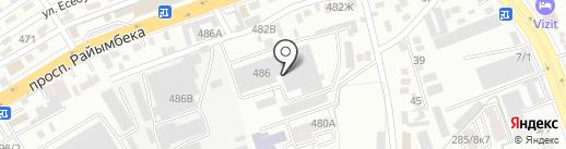 Lexnet на карте Алматы