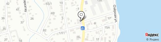 Жан на карте Алматы
