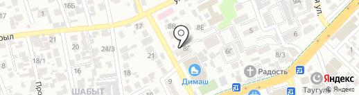 Охотничий домик на карте Алматы