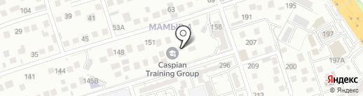 Caspian Training Group на карте Алматы