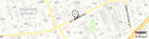 Ботагоз на карте Алматы