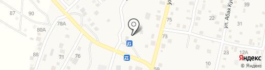 Сулейменов на карте Комсомола