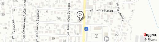 Бакытжан на карте Алматы